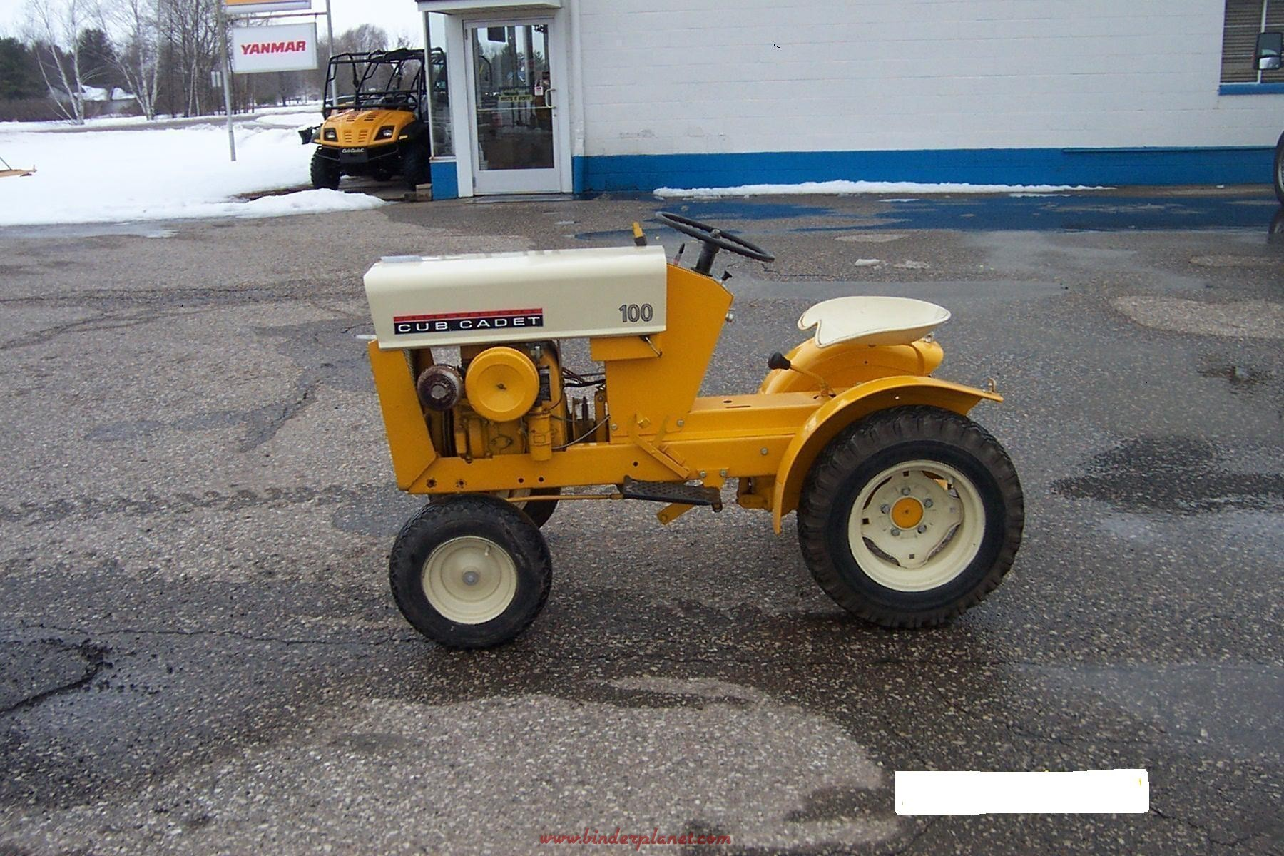 Collector Cub Cadet Tractors : Large cub cadet tractor collection binderplanet