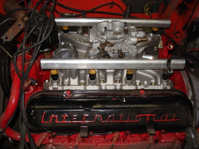 How to build: 320hp IH 345 for 1975 Scout 2 XLC - Pirate4x4